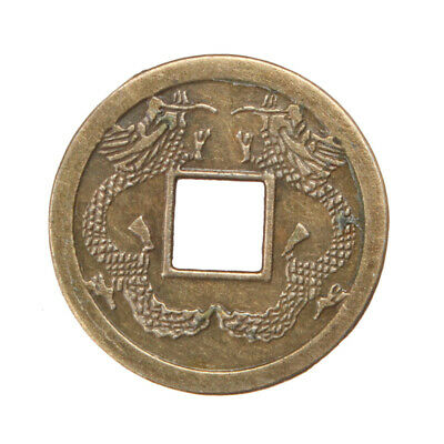 100pcs Chinese Feng Shui Brass Coins Fortune Oriental Emperor Money Lucky Hot