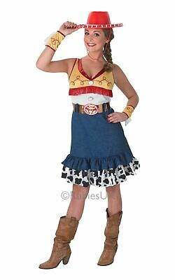 Adult Disney Toy Story Sassy Cowgirl Jessie Ladies Fancy Dress Costume Outfit