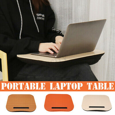 Laptop Lap Computer Table Portable Knee Desk Office Home Pillow Stable Stand AU