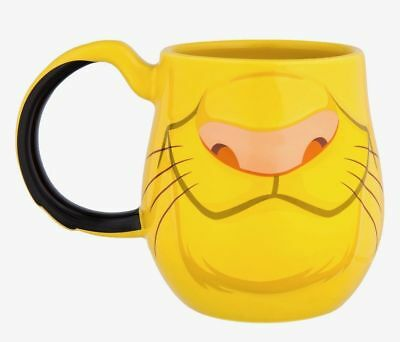 Disney The Lion King Simba Ceramic Coffee Mug Cup Disney World Theme Parks New