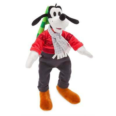 Disney Parks Nordic Winter Christmas Holiday Goofy Small Plush New with Tags
