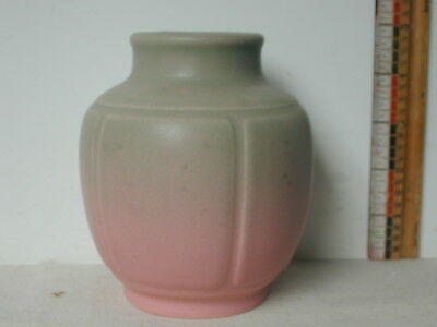 1929 Rookwood Pottery Pink To Green Vase