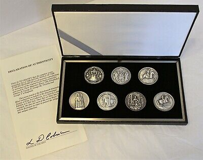 Royal Seals of the Jubilee Monarchs - .999 Fine Silver Medals - #239/1500
