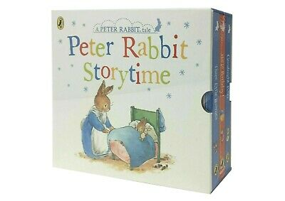 Peter Rabbit Story Time 3 Books Collection Box Set Childrens Classic Gift Set