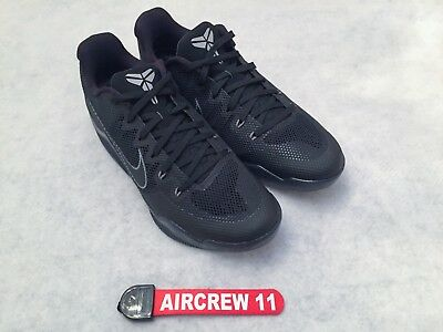 af2e5fc2741c NIKE KOBE XI 11 Dark Knight Mens Shoe 836183-001 Black Cool Grey ...