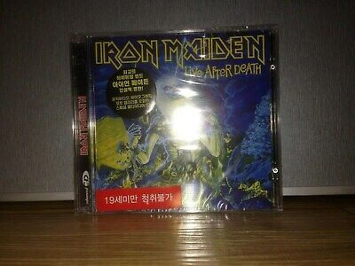 Iron Maiden-Live After Death 1998 Korea 2CD New Sealed RM Enhanced Org StickerX2