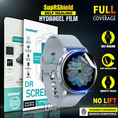 [3 Pack] SupRShield Samsung Galaxy Watch Active Full Coverage Screen Protector