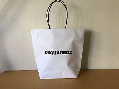 Used Like new - Paper Bag DSQUARED2 Bolsa de Papel 32 x 30 x 10 cm - Usado