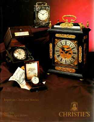Christie's Important Clocks & Watches
