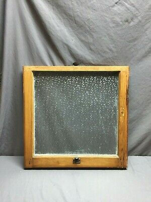 Antique Florentine Privacy Glass Window Sash Shabby Vintage Chic 24X24 102-19D