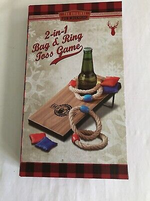 Bag & Ring Toss Table Game NEW
