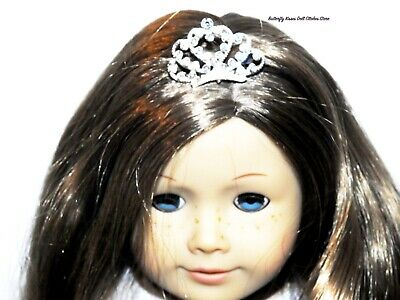 Rhinestone Tiara Crown Metal 18 in Doll Clothes Accessory For American Girl #J