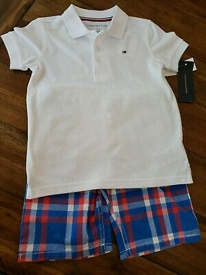Boy's/ Toddlers Tommy Hilfiger 2- Piece Short Set 3T Brand New