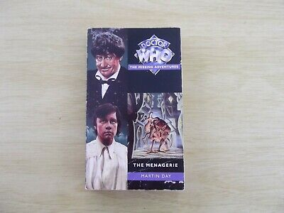 Doctor Who - Missing Adventures - The Menagerie by Martin Day (Virgin)