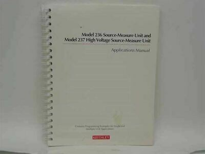 Keithley Model 236/237 Source-Measure and High Voltage Sour (236-904-01 Rev. D)
