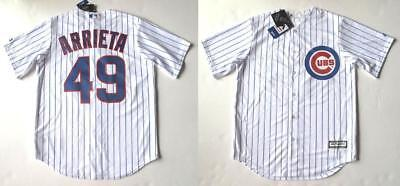 timeless design 0ea55 8651a MAJESTIC CHICAGO CUBS Jake Arrieta Cool Base Player Jersey ...