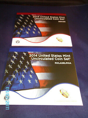 2014 P&D Complete Uncirculated Set of * 28 * Coins US Mint Sealed