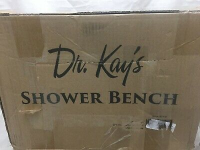 Dr Kay's Adjustable Shower Tub Bench Chair Lightweight Anti-slip Stable A3
