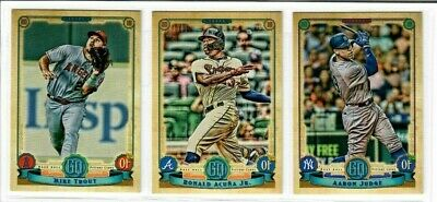 2019 Topps Gypsy Queen Baseball Base #1-150 You Pick RC TROUT ACUNA OHTANI RHYS+