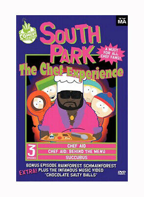 NEW! ~ South Park: The Chef Experience (DVD, 2000) COMEDY CENTRAL!