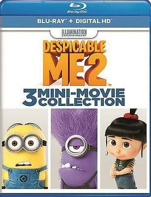 LIKE NEW! ~ Despicable Me 2 ~ Three Mini Movie Collection (Blu-Ray, 2016, WS)