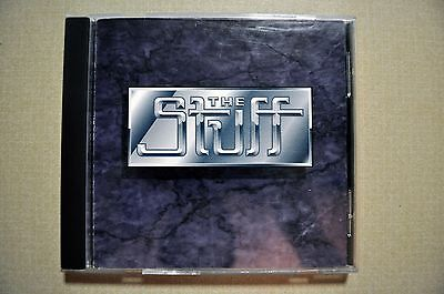 THE STUFF s/t CD ULTRA RARE HAIR METAL indie WHITE EAGLE kidd wikkid HATE