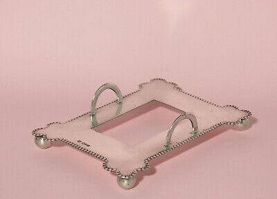 Antique Hallmarked Edwardian Sterling Silver Tray