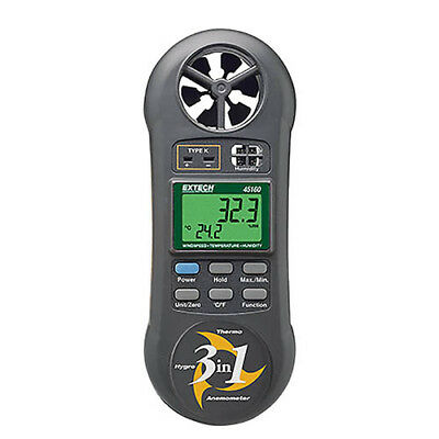 Extech 45160 Hygro-Thermo-Anemometer