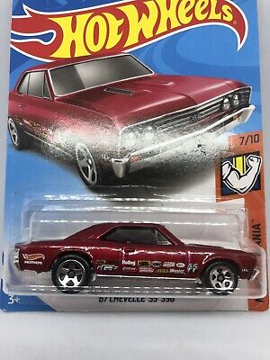 /'67 Chevelle SS 396 157//25 Muscle Mania 7//10 Red H case 2019 Hot Wheels