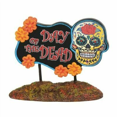 Department 56 Halloween Village New 2019 DAY OF THE DEAD SIGN 6003230 Dept 56