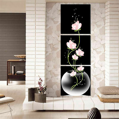 3pcs Canvas Modern Wall Home Decor Art Oil Painting Picture Print Unframed Set
