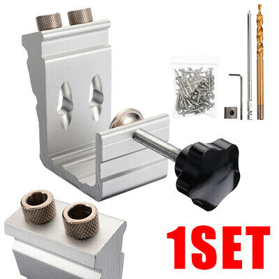 Pocket Hole Screw Jig Kit Tool Woodworking Drill 850 Heavy Duty Wood Joint Tool