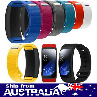 AU Replacement Silicone Wrist Band Strap For Samsung Gear Fit 2 SM-R360 Watch mr