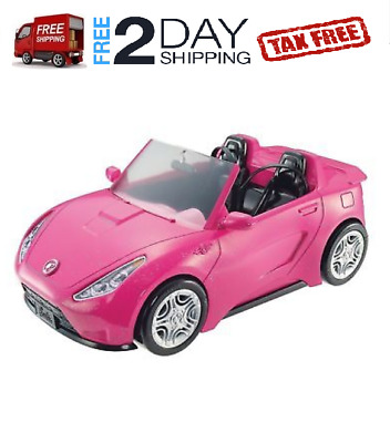Barbie Glam Convertible Car Pink Christmas Toys Girl