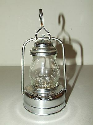 Vintage 1950's Battery Operated Tin Skater's Lantern Lamp - Made in Japan
