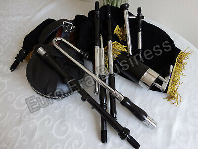 New Irish Uilleann Pipes Half Set, Learn To Play With Tutor Book