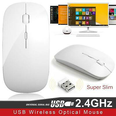 New Slim Wireless Bluetooth Optical Mouse Mice for Apple Mac Laptop PC Macbook