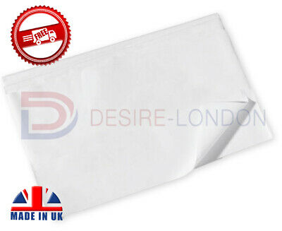 SHEETS OF WHITE ACID FREE TISSUE PAPER 500x750mm