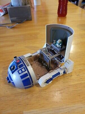 1994 Lewis galoob toys Micro Machines Star Wars R2-D2 Playset **with jaba figure