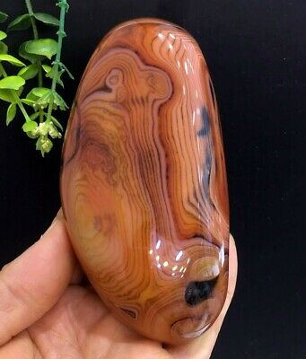 327g Beautiful Natural Colors Red Agate Mineral Specimens Rough Stone