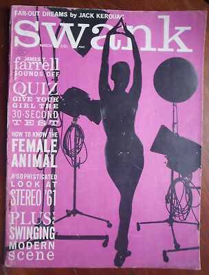 "Jack Kerouac, Beats Ginsberg, Corso etc. Swinging Scene in ""Swank 1961 March"""