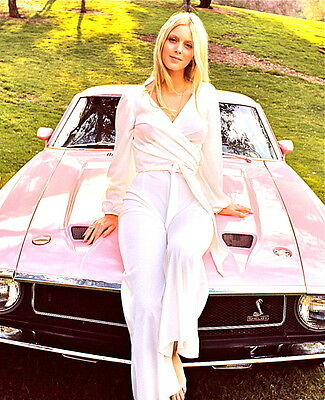 1969 GIRLS and CARS  color glamour classic  photo (Celebrities & Musicians)