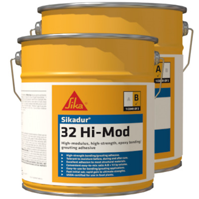 Sika Sikadur 32 Hi-Mod 4 Gallon Unit 2-Component Epoxy Bonding