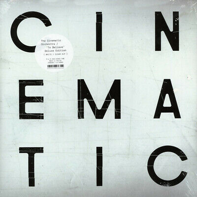 The Cinematic Orchestra - To Believe - 2 x Vinyl LP (1 x White/1 x Clear) *NEW*
