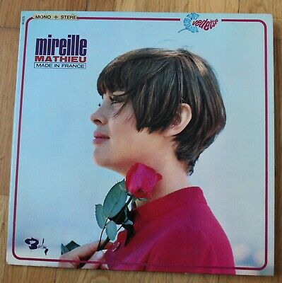 Mireille Mathieu, made in France, LP - 33 Tours
