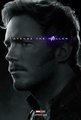 """Avengers End Game Star Lord Movie Poster Art Print 13x20"""" 24x36"""" 27x40"""""""