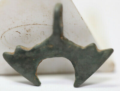 Ancient Viking Bronze pendant AMULET   axе  DOUBLE AXE  GREAT SAVE