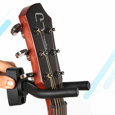 2/4Pcs Guitar Hanger Stand Holder Wall Mount Hook Display Acoustic Electric Bass