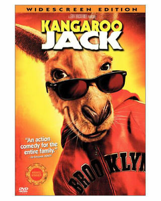 Kangaroo Jack (DVD, 2003, WIDESCREEN) MOVIE Jerry O'Connell, Anthony Anderson