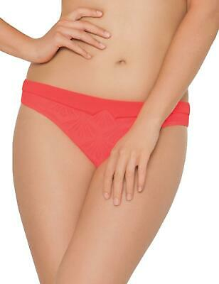 Curvy Kate Siren Mini Bikini Brief	 Bottoms Pant CS3345 Coral UK 20